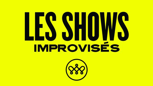 Les shows d'humour improvisés