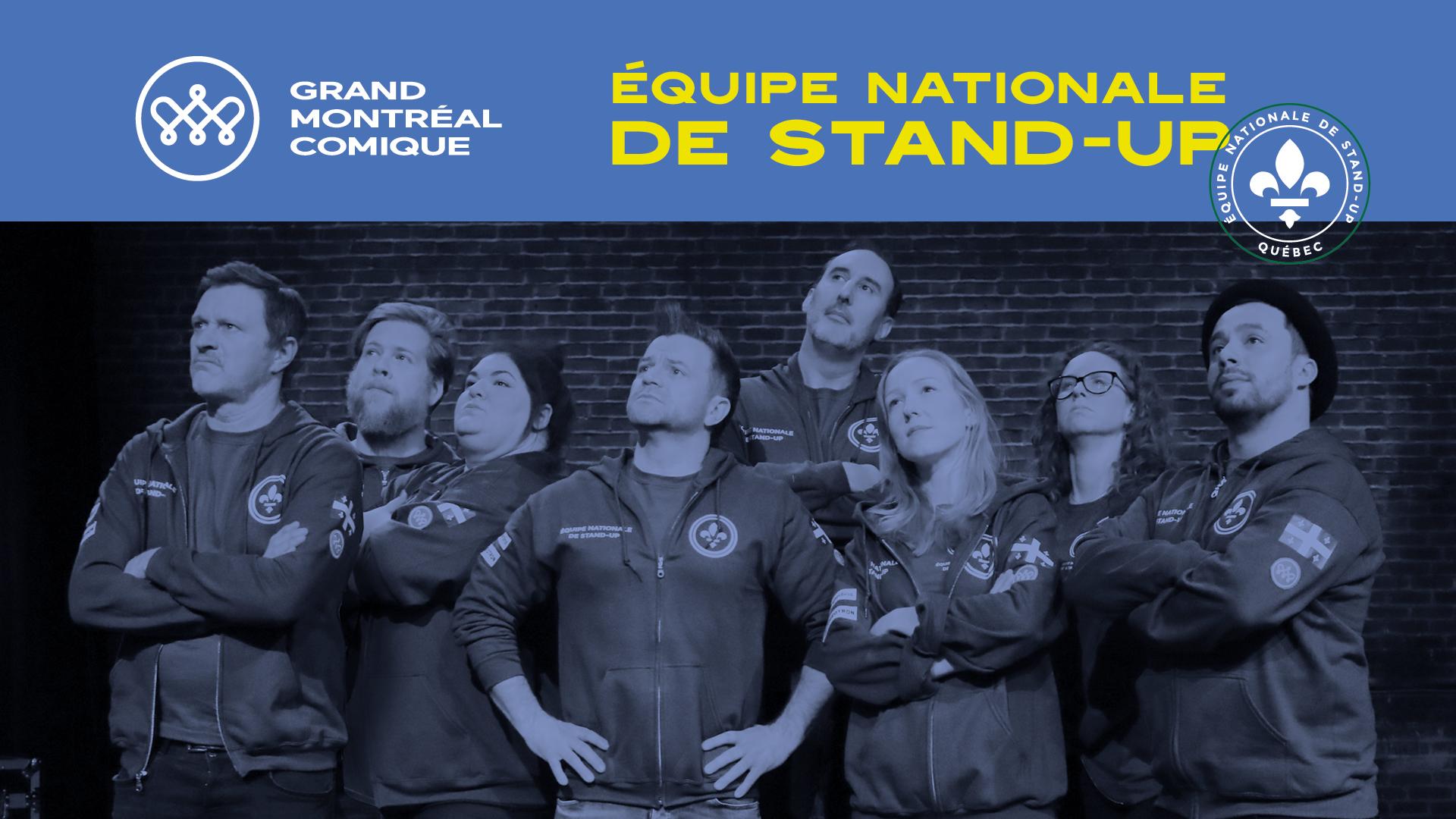 L'équipe nationale de stand-up du Québec