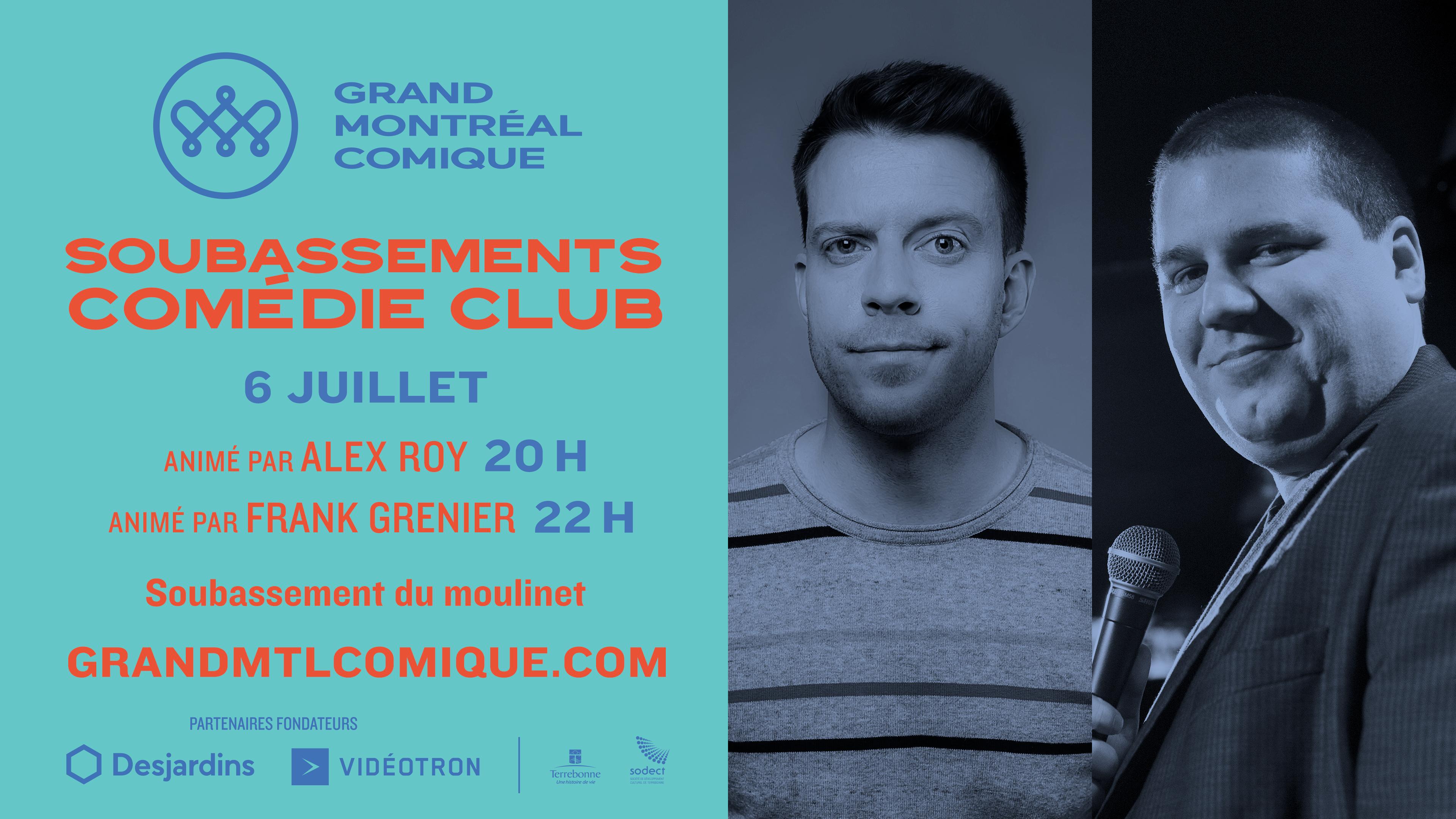 Soubassement Comédie club