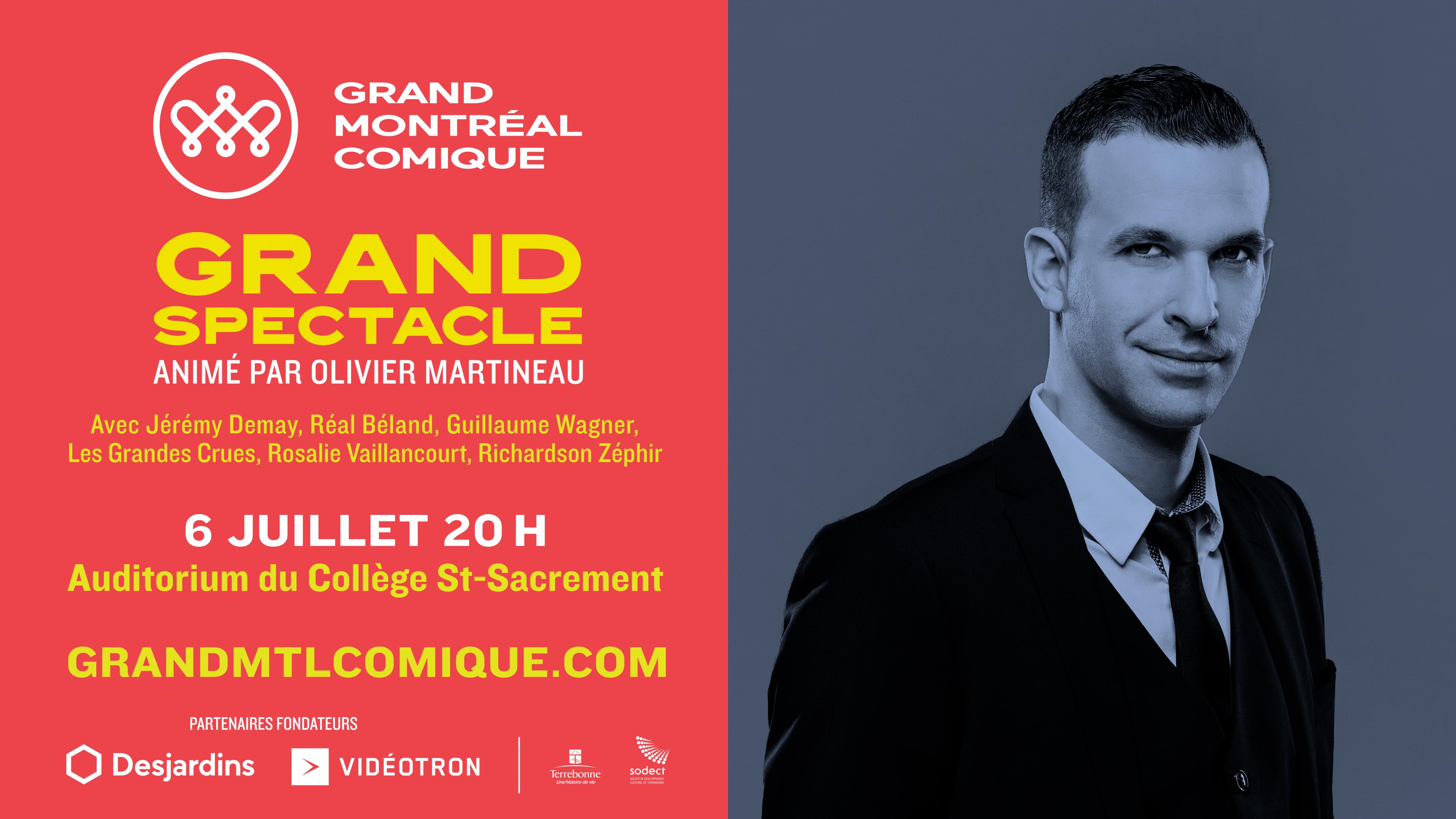 Olivier Martineau et invités
